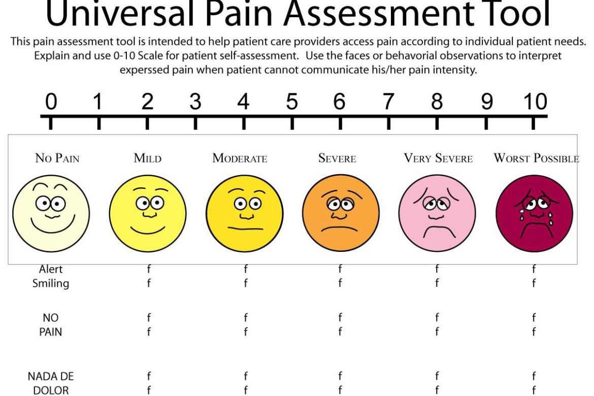 the pain scale