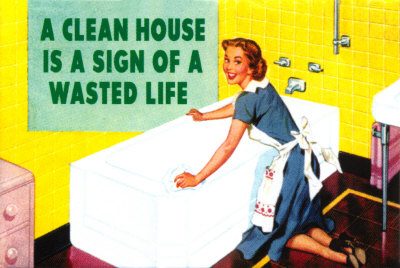 marriage, wife, 50s wife, wife cleaning