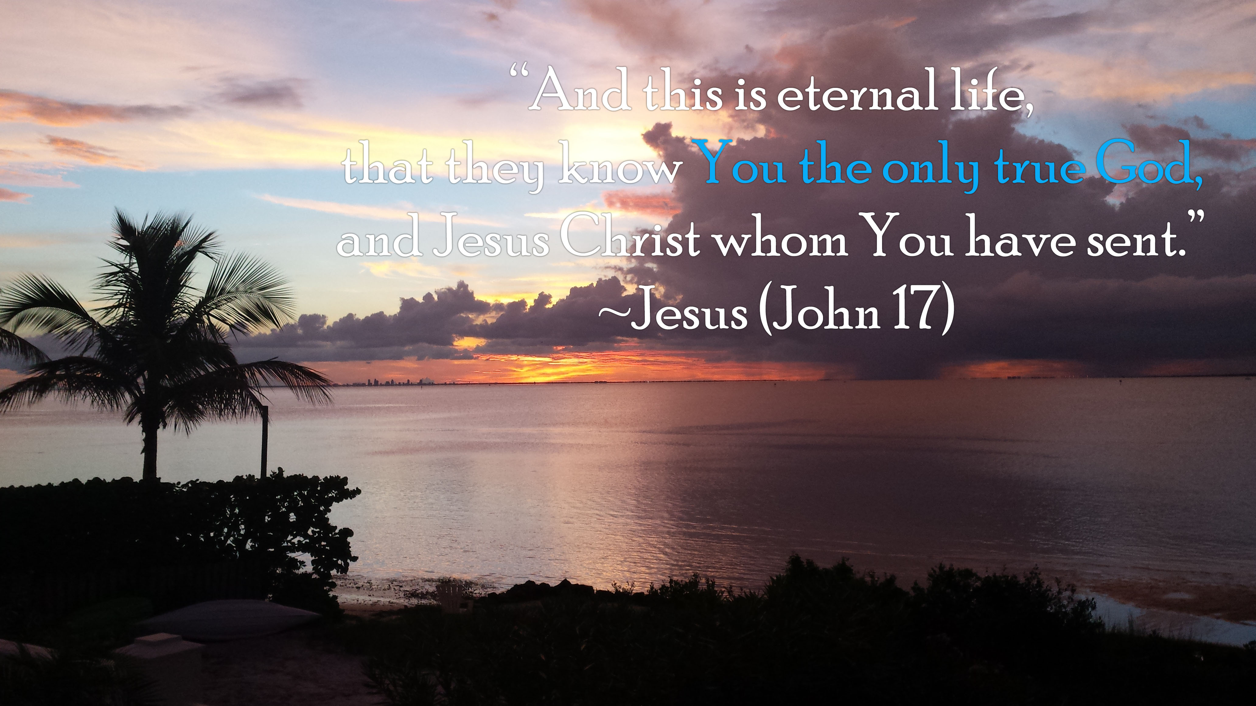 And This is Eternal Life … - You Are the One I Want